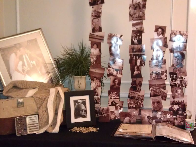 Celebration of Life Display