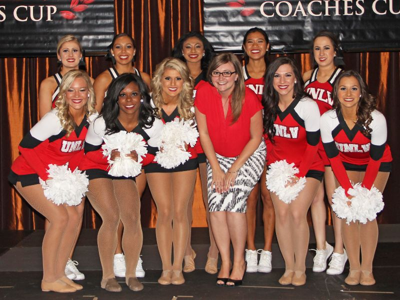 UNLV Cheerleaders - Coaches Cup
