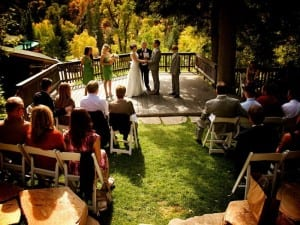 Millcreek Canyon Wedding