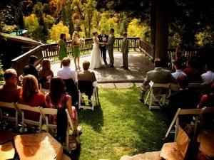 Millcreek Canyon Wedding